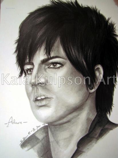 Adam Lambert by Sillulillu